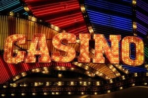 casino skylt